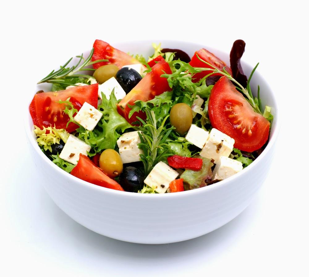 Ejemplos de ensaladas de verano