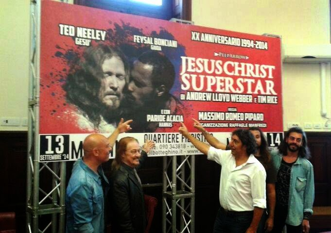 "IN SICILIA L'OPERA ROCK ""JESUS CHRIST SUPERSTAR"""