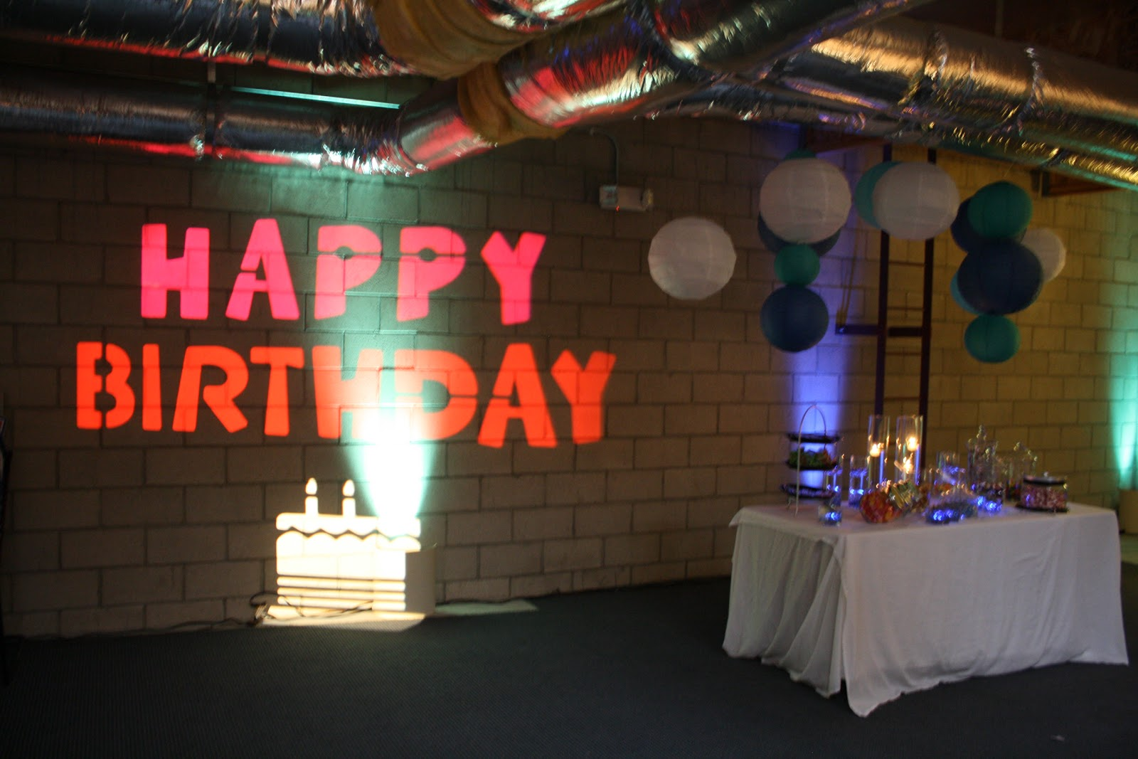De lighted 16th birthday party lighting birthday party for 16th birthday decoration