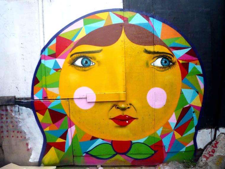 Guess Who ? - A arte de rua de Remy Uno