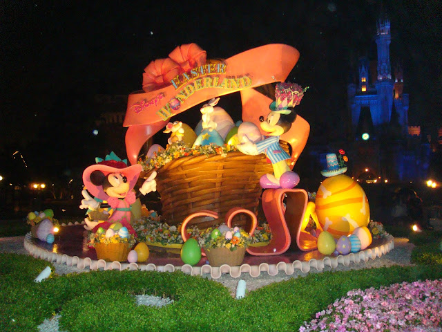 Tokyo Disney Land 東京迪士尼 復活節