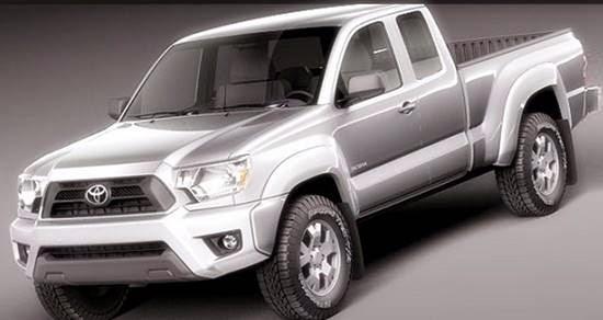 2015 Toyota Hilux Spy Shots