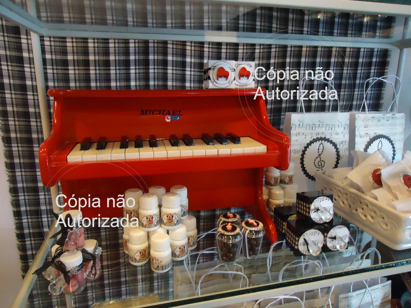 apparato Festa Infantil TEMA Notas Musicais