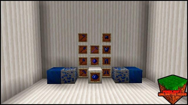 The Power Gems Mod gema lapis lazuli objetos