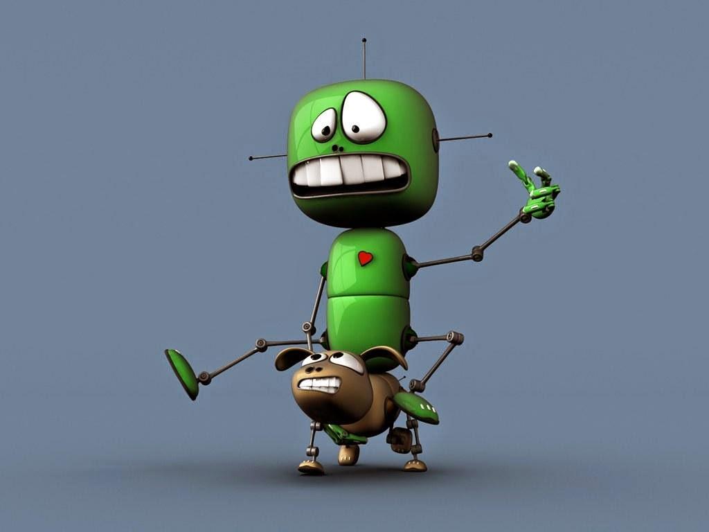Cartoon robot wallpaper cartoon wallpaper - Robot wallpaper 3d ...