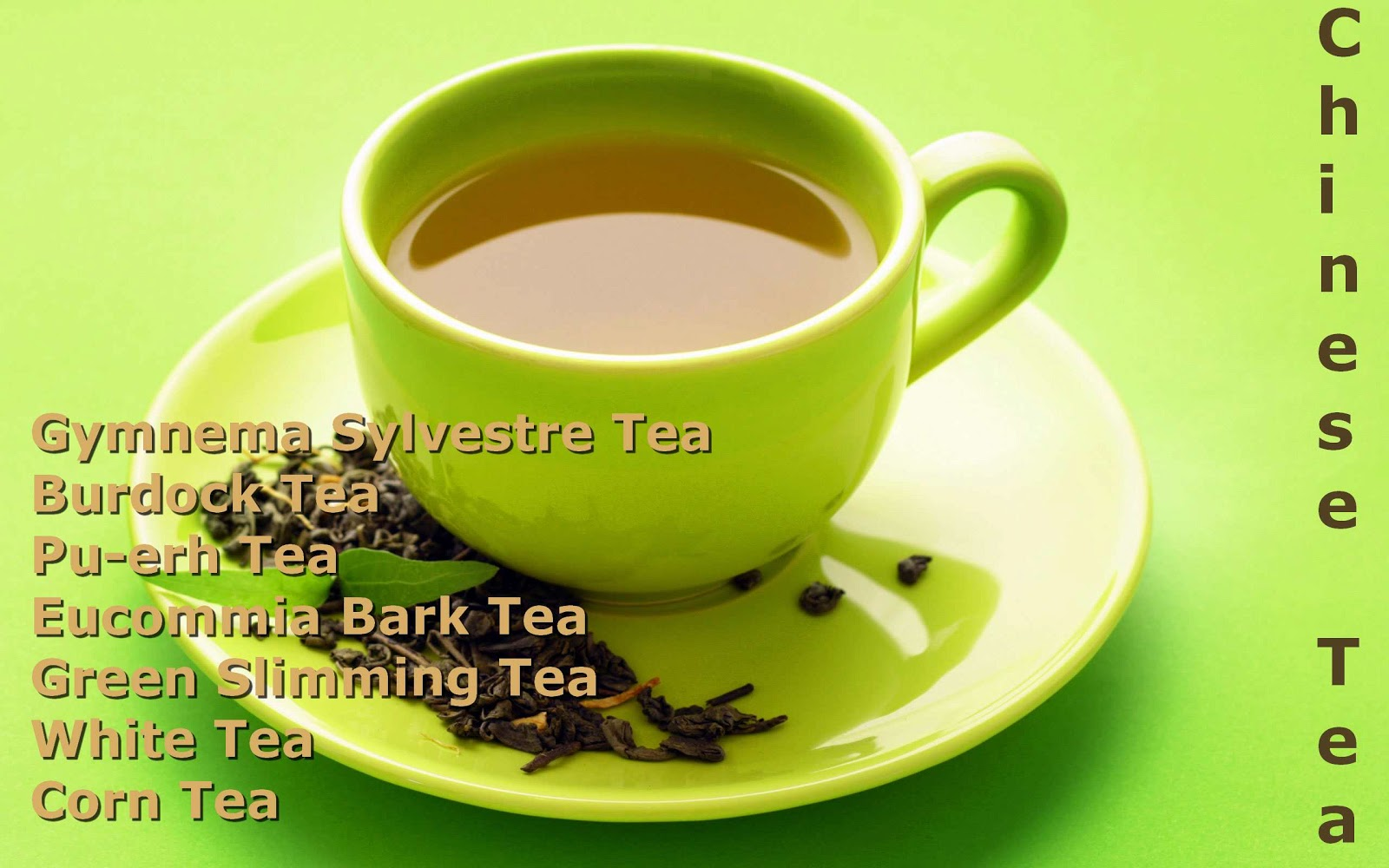 Chinese herbal tea diarrhea remedy