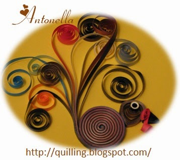 Quilled Quilling Turkey Pattern