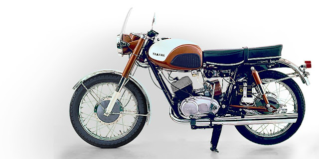 The 1959 Yamaha YDS-1 - japan's-first-sports-motorcycle