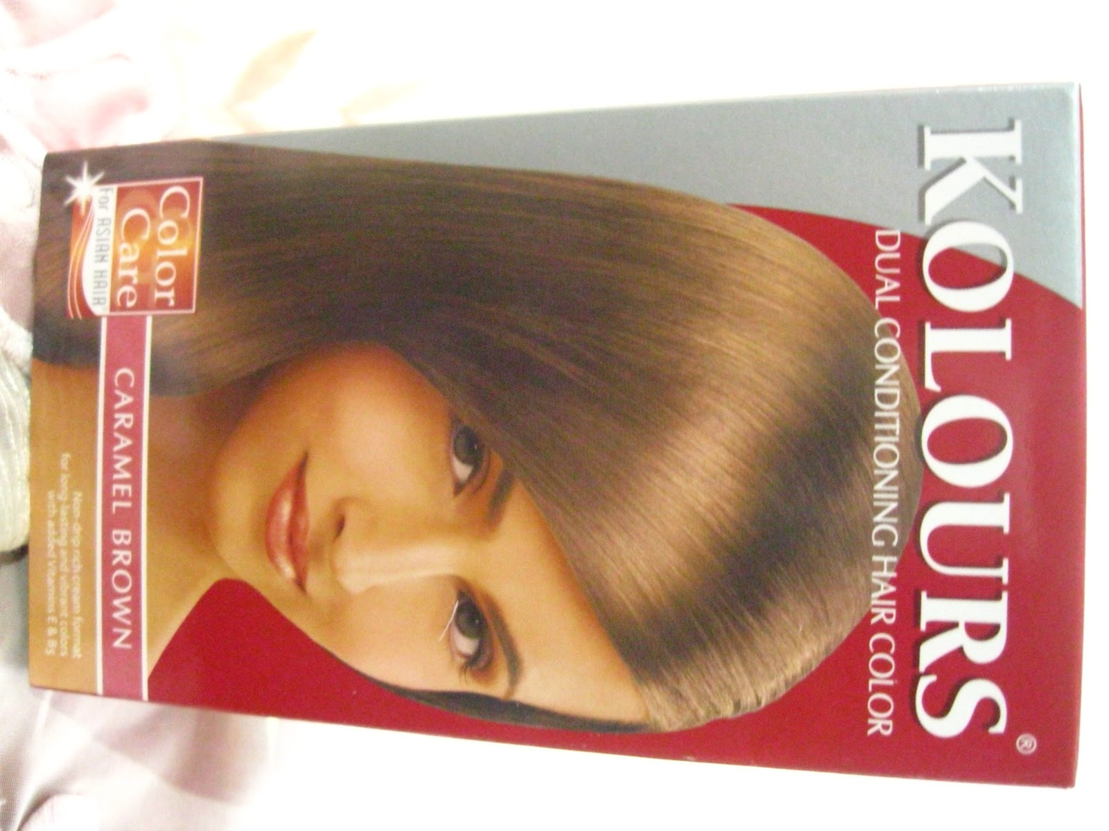 Hey Girls Its Me Ina D Kolours Hair Dye Caramel