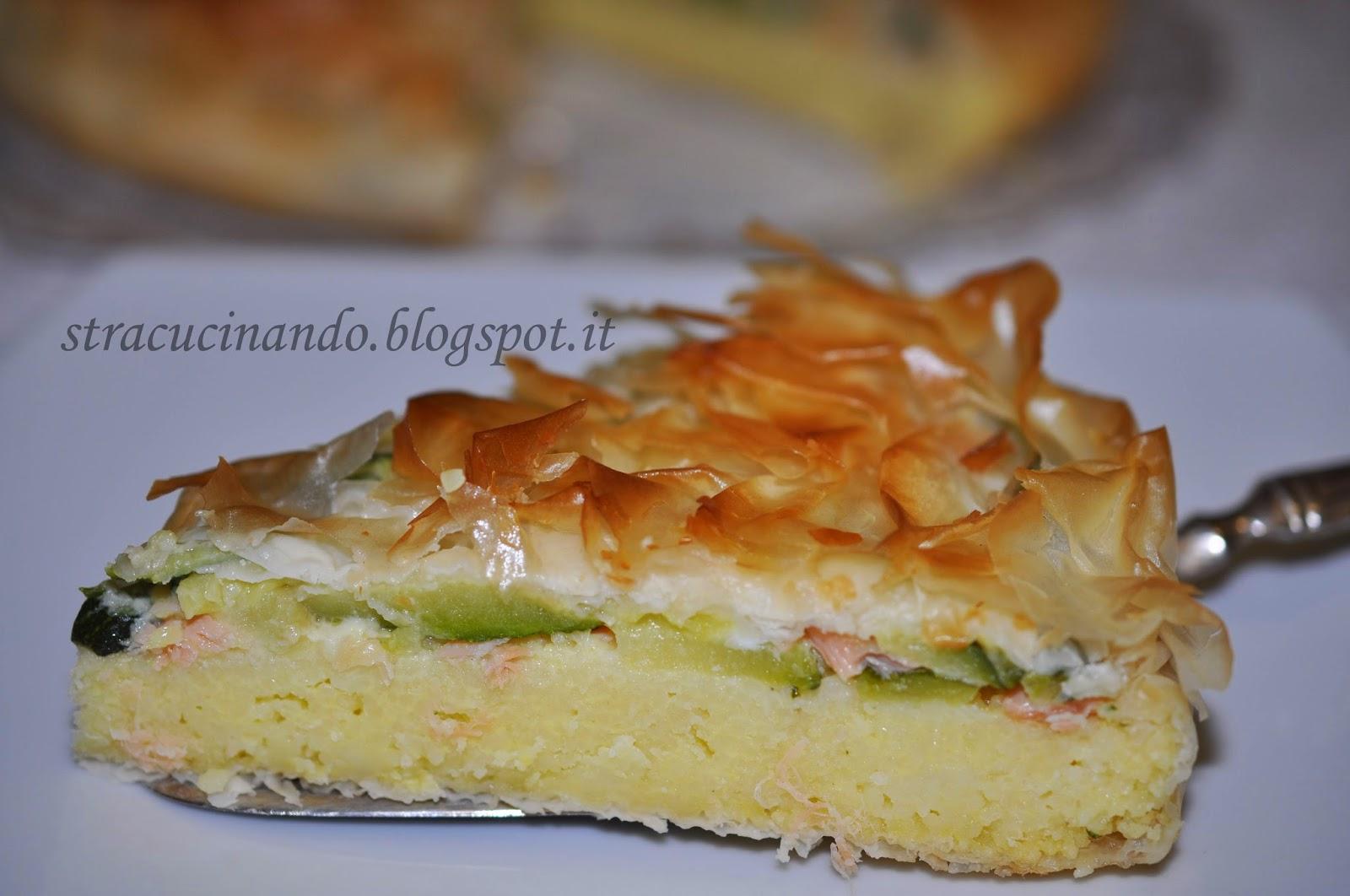 Pasta fillo ricette torte salate