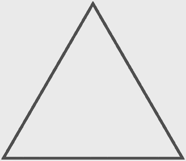 things that are equilateral triangles pictures to pin on