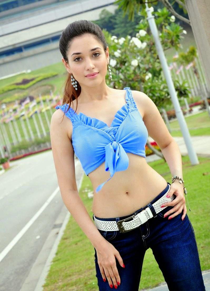 actress celebrities photos: tamanna bhatia hot navel show, tamanna