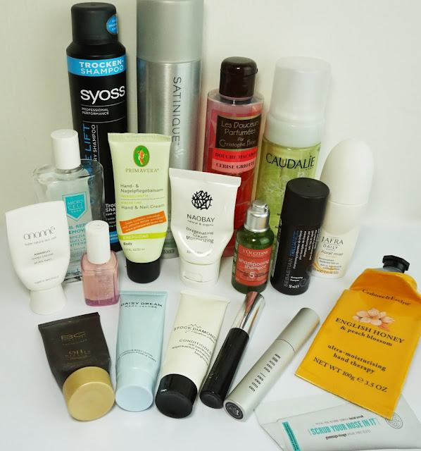 Aufgebrauchte Kosmetik - April 2015