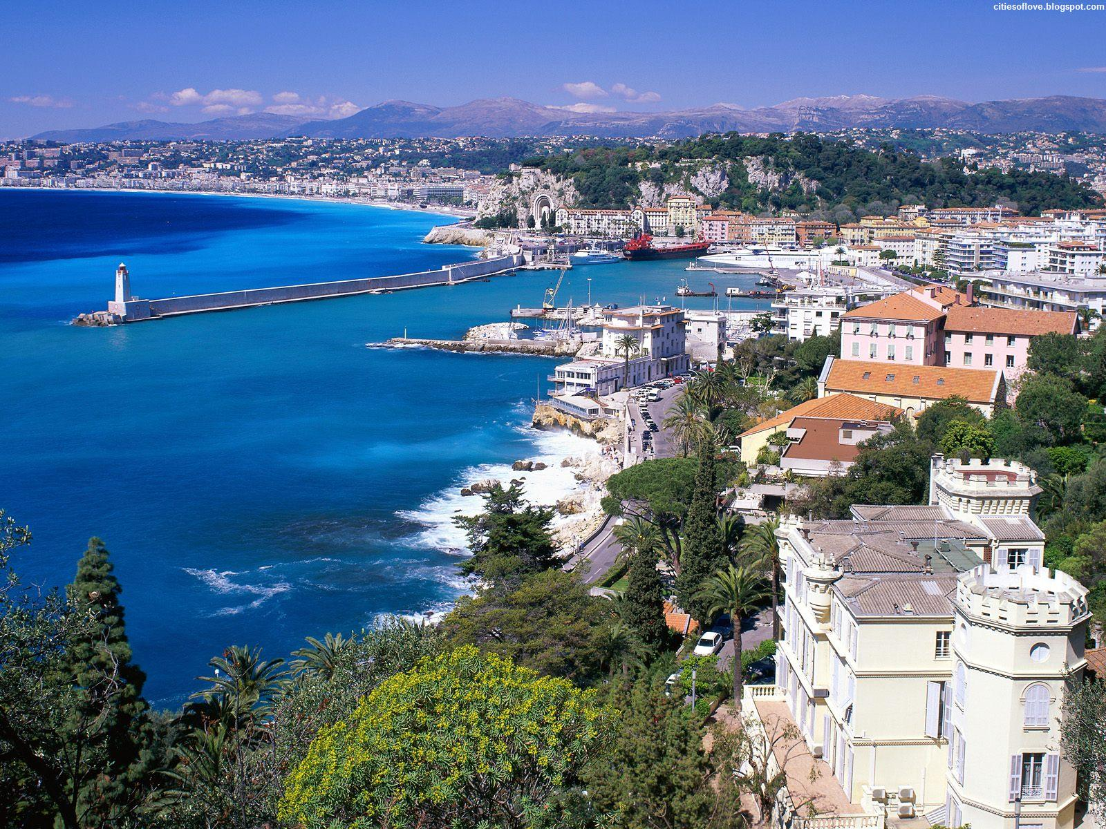 coastal view nice france wallpapers - Coastal View Nice France Wallpapers HD Wallpapers