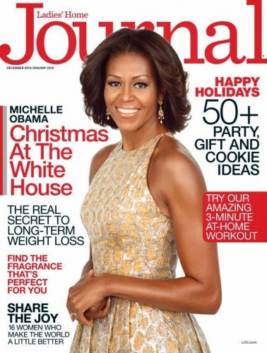 First Lady Of The 'Free World', Michelle Obama Graces The Cover Of Ladies' Home Journal