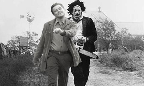 Funny Texas Chainsaw Massacre Leonardo DiCaprio Funny Walk