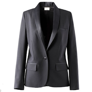 Lined Wool Dinner Jacket With Satin Collar BA&SH La Redoute