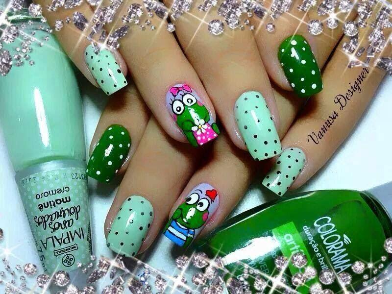 mensajes bonitos: uñas decordas modernas con nuevos estilos y ...