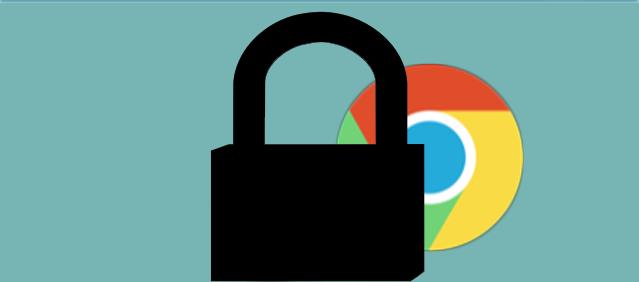 حماية مفضلاتك على متصفح جوجل كروم بباسورد