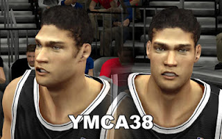 NBA 2K13 Brooklyn Nets Cyber Face Pack Mod