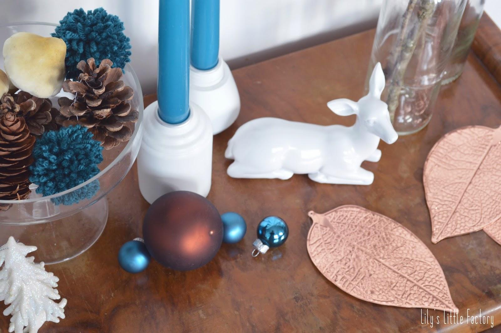 Decoration de noel bleu canard - Sapin decore en bleu ...