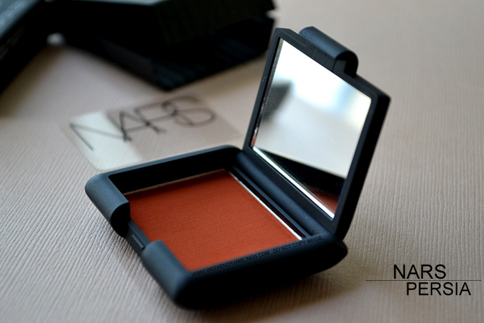 NARS Persia Matte Paprika Eye Shadow Spring 2013 Makeup Collection Indian Beauty Blog Darker Skin Review Swatches FOTD Looks Ingredients