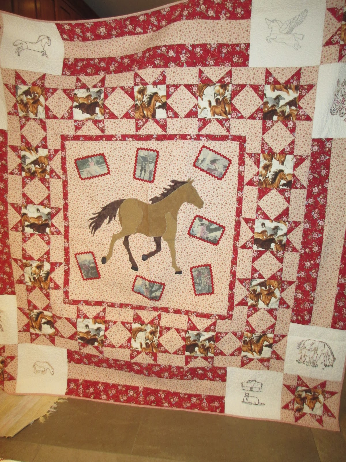 TumbleTalk: May 2013 : horse fabric for quilting - Adamdwight.com