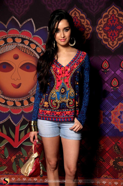 Shraddha Kapoor Long Length Hairstyles