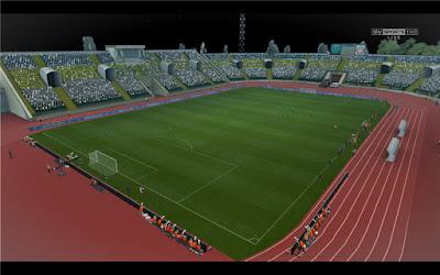 PES 2013 Stadion Avanhard Lugansk FC Zorya Lugansk by Sevak