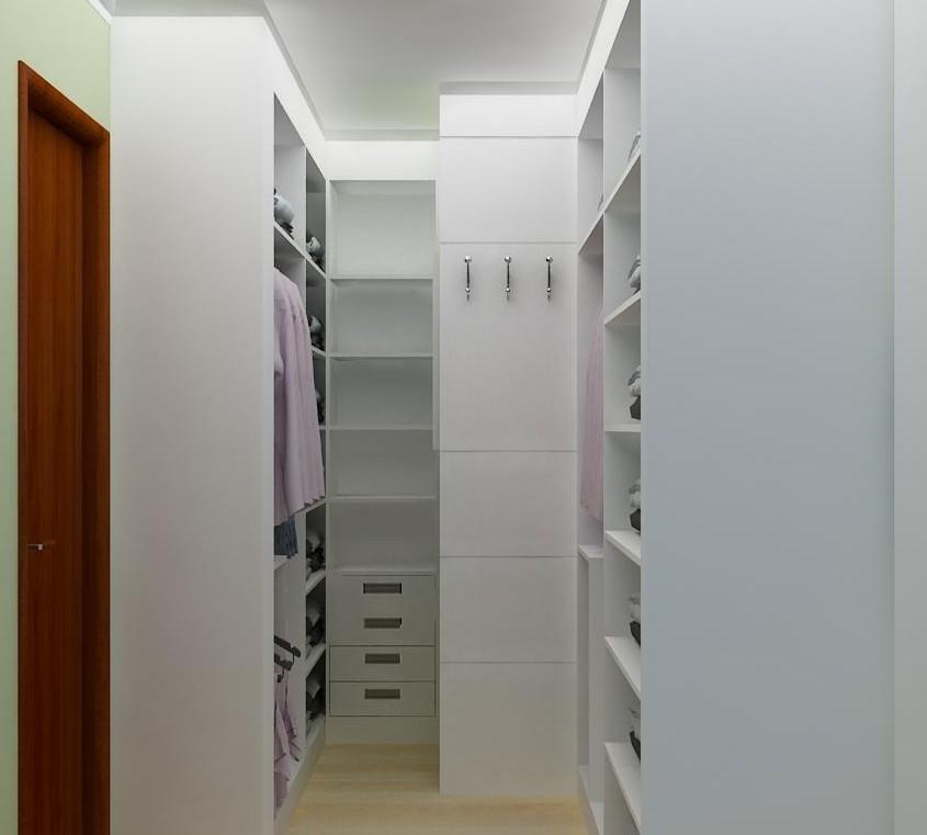 CLOSETS  GUARDA ROUPAS  ANA BOUFLEUR  ARQUITETURA -> Banheiro Closet Pequeno