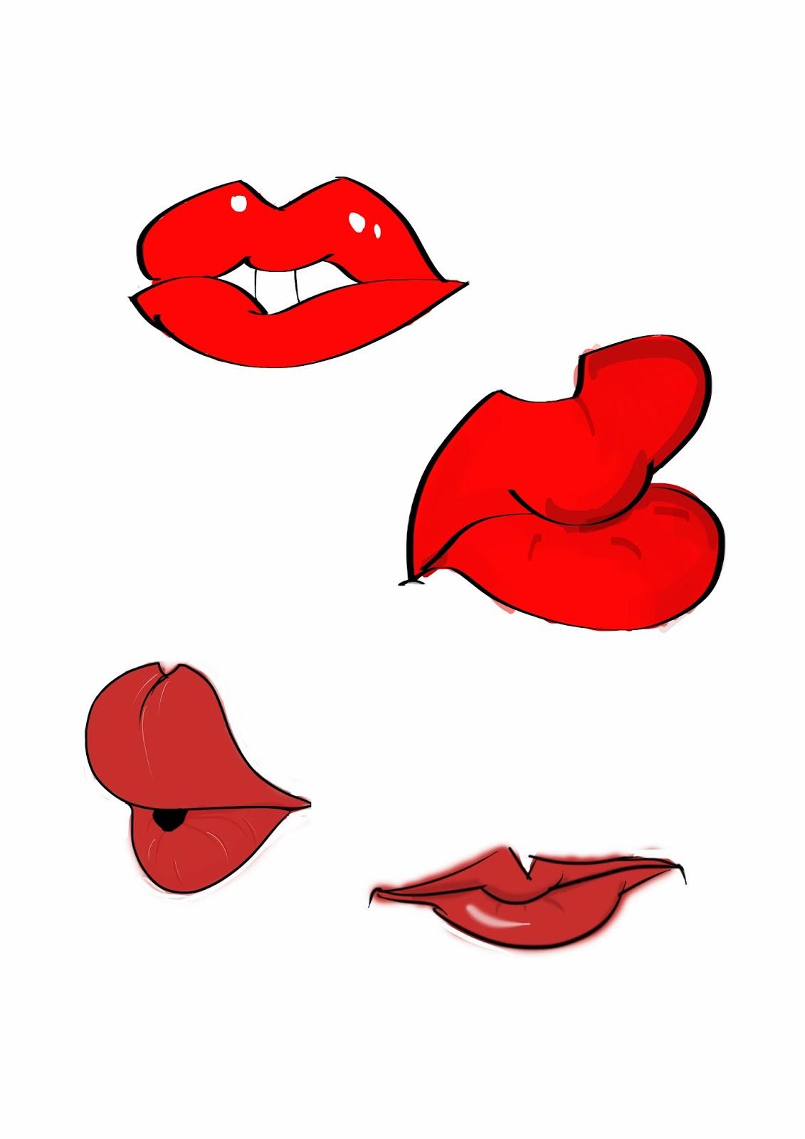Lips Cartoon Tumblr - Viewing Gallery