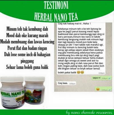 TESTIMONI HERBAL NANO TEA 9