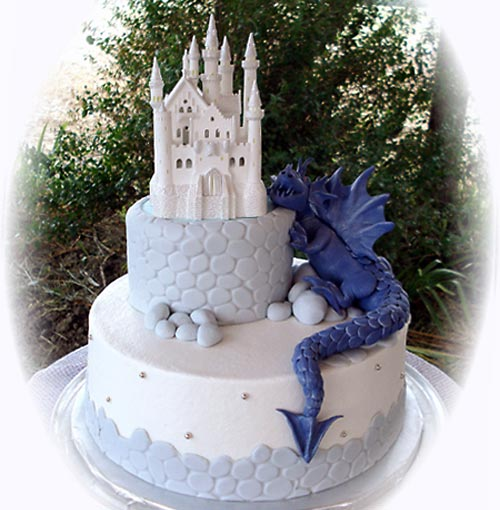 Unique Wedding Cakes Dragon Inspiration Just For Wedding
