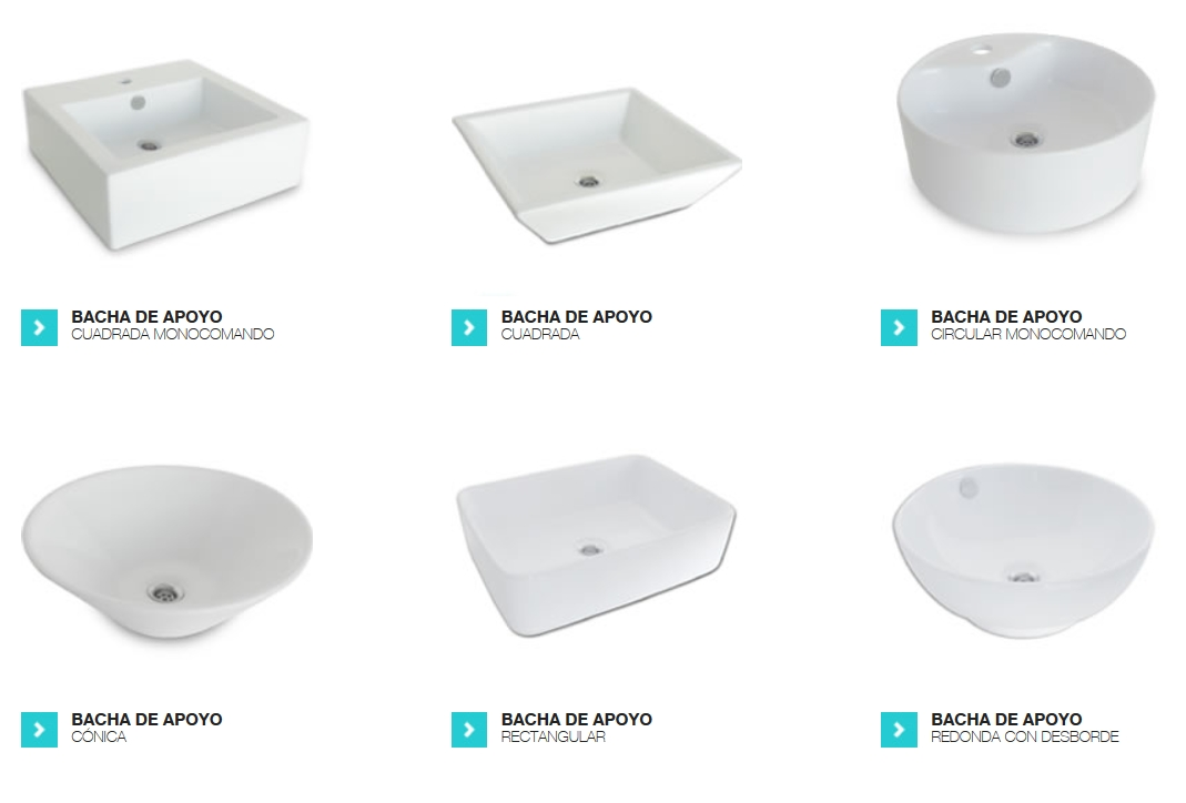 Bachas Para Baño Pequeno:Bachas para bañosencontralas en nuestro local!