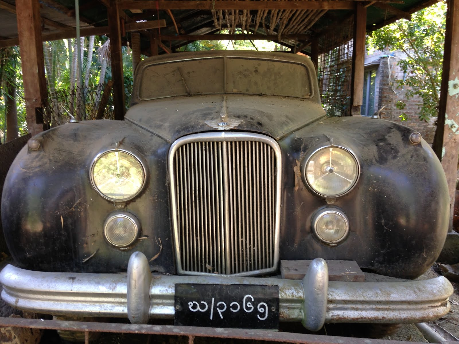 Yeah, this is a cool car in Yangon.