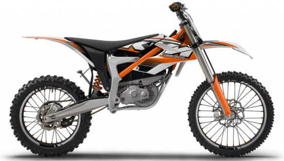 electric motorcycle motor, KTM's Freeride E