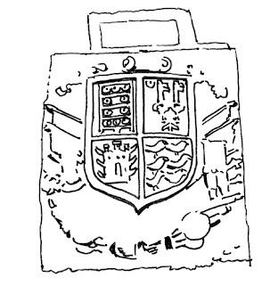 Otro escudo en la Casa Valdés Bazán