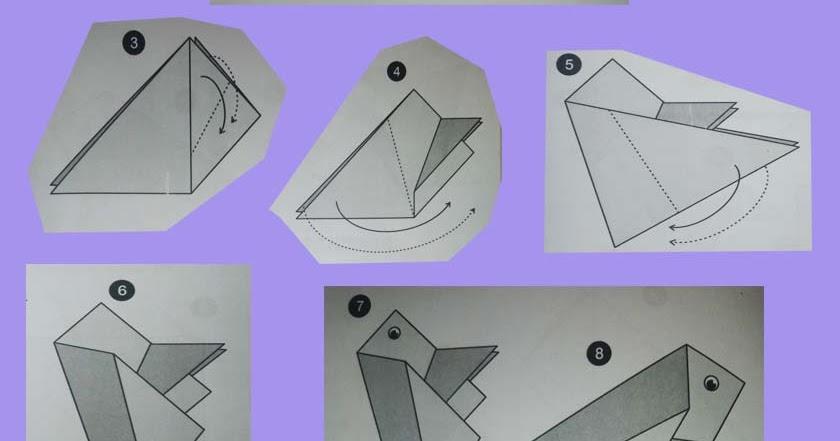 Panduan Membuat Origami Katak Panduan Belajar Membuat Origami