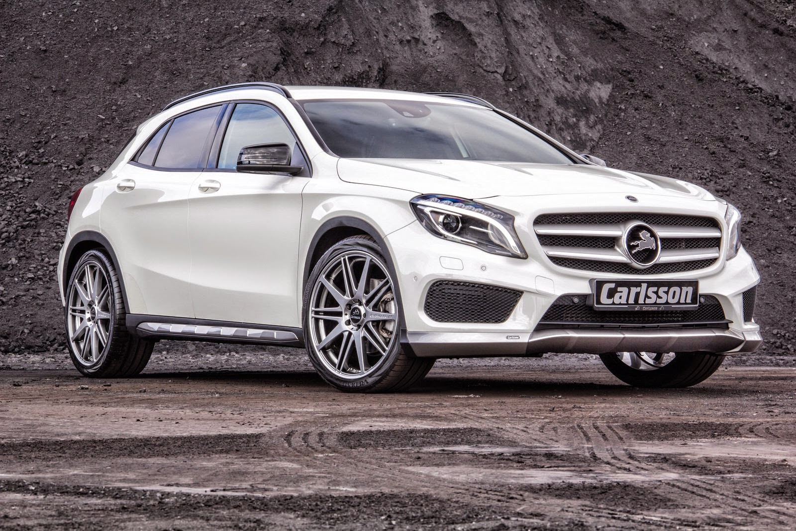 Mercedes Benz X156 Gla Class Tuned By Carlsson Benztuning