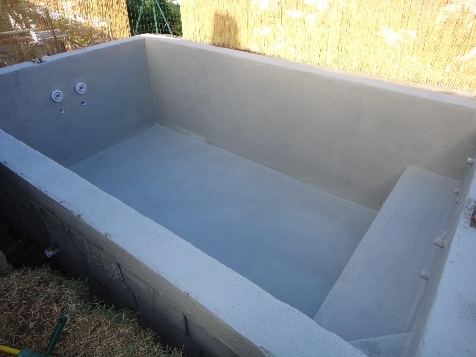 Construire sa piscine partie 2 l for Etancheite piscine avant carrelage