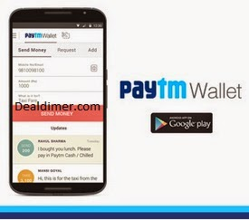 Free Rs. 50 PayTm Wallet Balance [New users]