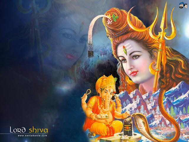 Lord Shiva & Lord Ganesh