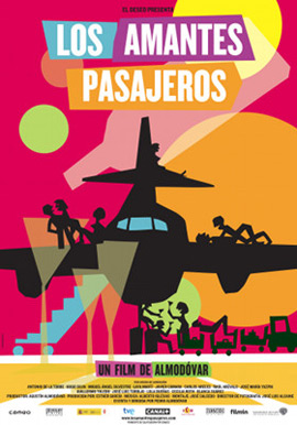 nueva película de Almodóvar Los amantes pasajeros
