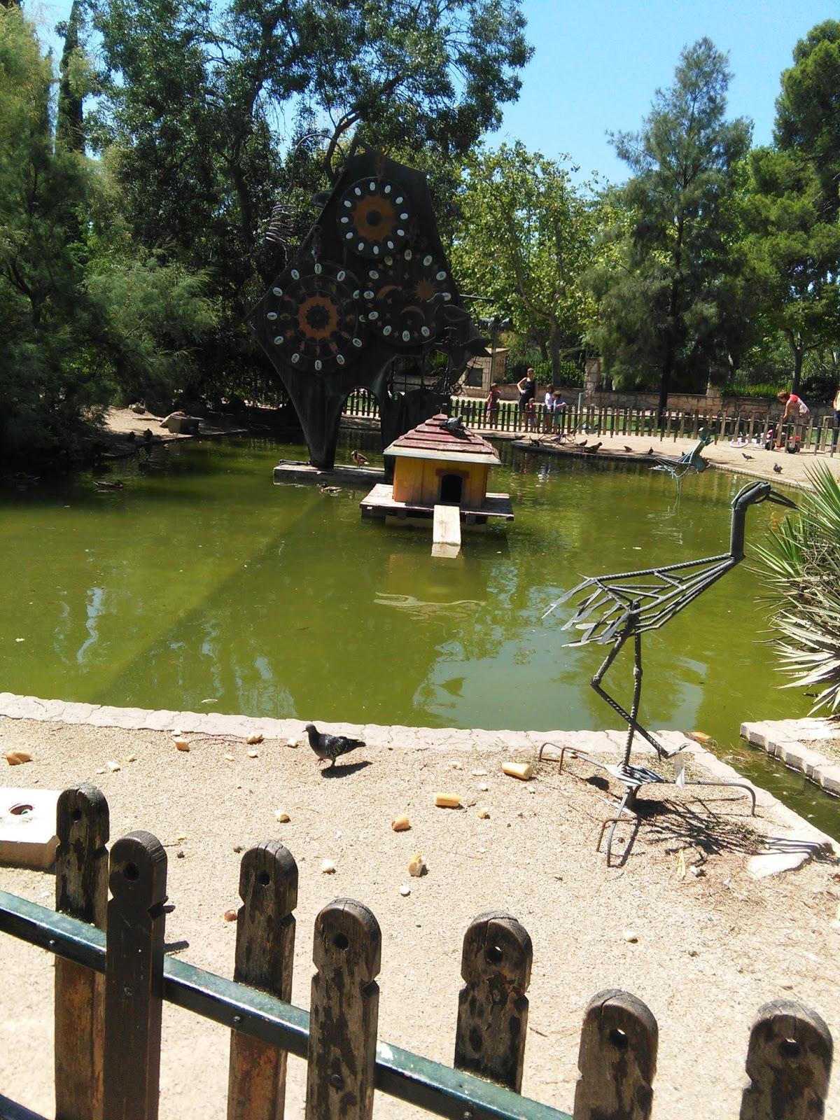 Blogssipgirl exposici n esculturas de hierro reciclado de for Jardin zaragoza