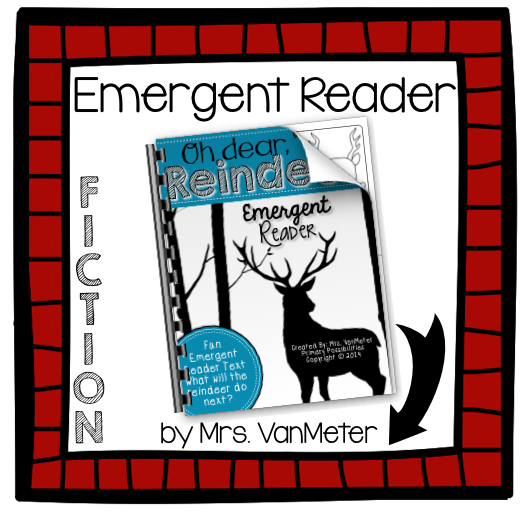 http://www.teacherspayteachers.com/Product/Oh-dear-Reindeer-Emergent-Reader-1587417