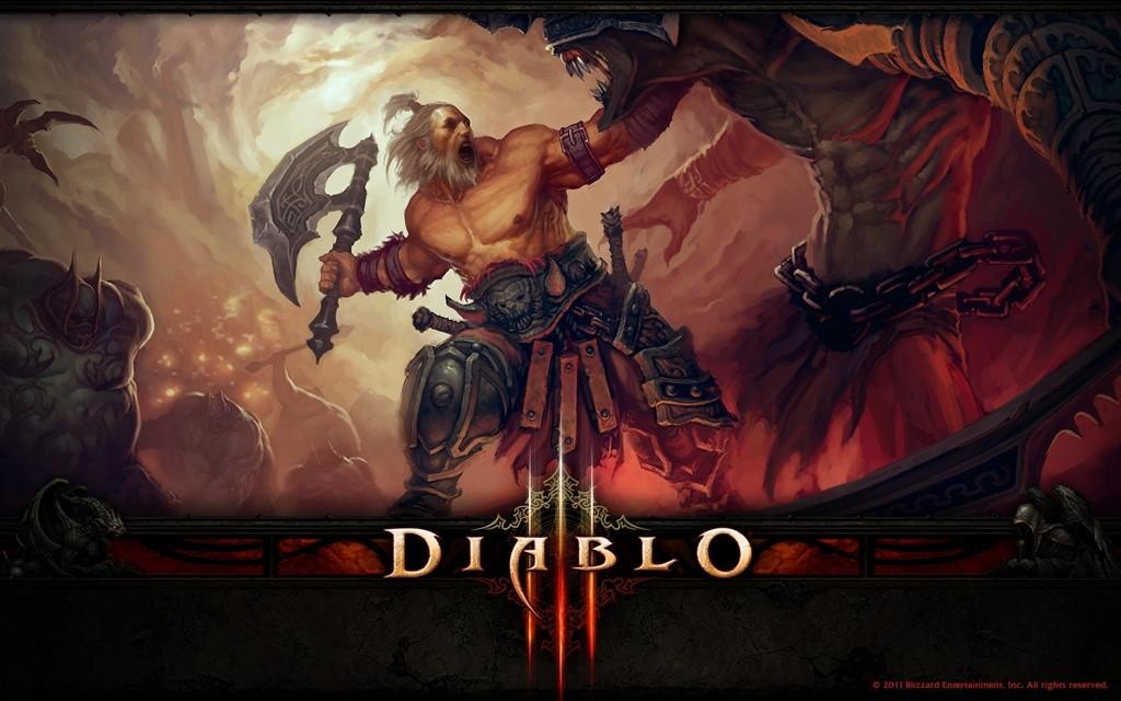 Diablo HD & Widescreen Wallpaper 0.0431906849534416