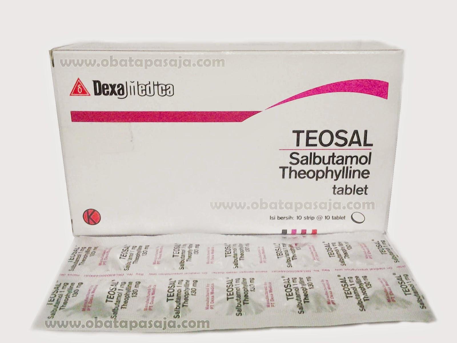 Komposisi, Dosis, Harga Teosal Tablet