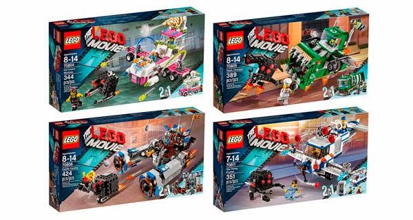 Sets LEGO PELÍCULA