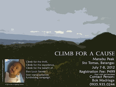 Climb for a Cause: Baby Bien Liver Transplant Fundraising Campaign