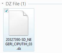 Cara Download File .DZ di Web Manajemen UN